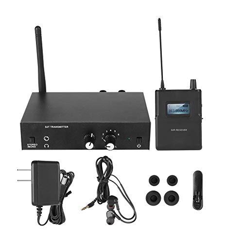 R/écepteur de Studio dEnregistrement Adaptateur Syst/ème de Monitoring Intra-auriculaire sans Fil UHF de 561-568Mhz. Stage Monitor Receiver