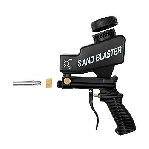Pistolet /à sablage Shot Kit de sablage Par Air capacit/é 22 kg