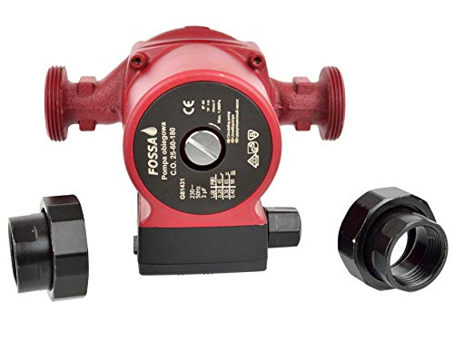 BACOENG 25//60-180 pompe de recirculation pour chauffage central acier inoxydable