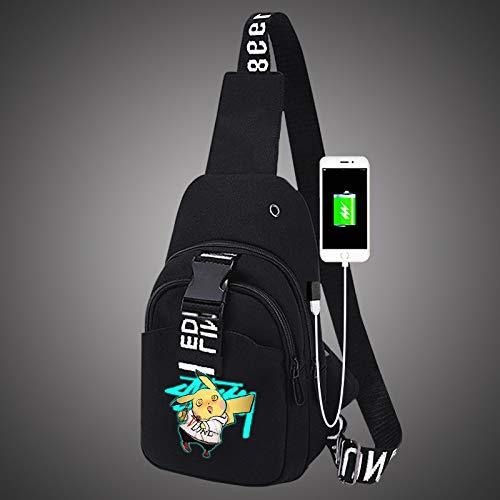 Reooly Sac /à bandouli/ère multifonctionnel pour t/él/éphone mobile avec sac /à bandouli/ère pour hommes