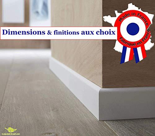 Jourjon Jean 045433 Plinthe prestige en applique faux bois 0,83m Marron