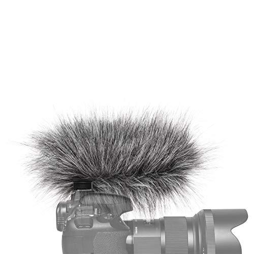 Gutmann bonnette Anti-Vent Protection Contre de Bruit Le Vent pour Sony ECM-XYST1M Premium Edition Black avec Doublure int/érieure