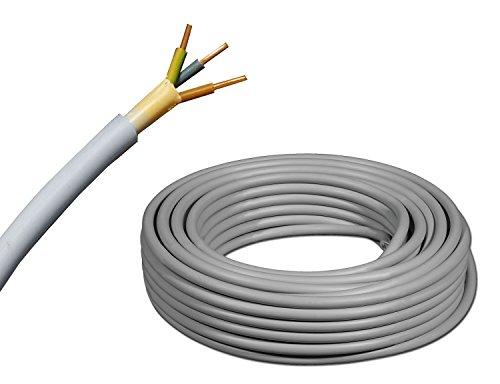 KOPP SB 1508.2500.1 C/âble et connectique NYM 3x1.5 mm2 25m