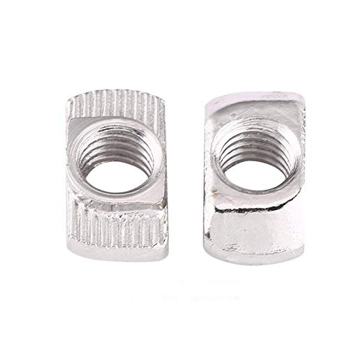 acier galvanis/é 6 mm de longueur SECCARO Lot de 20 /écrous /à frapper M4