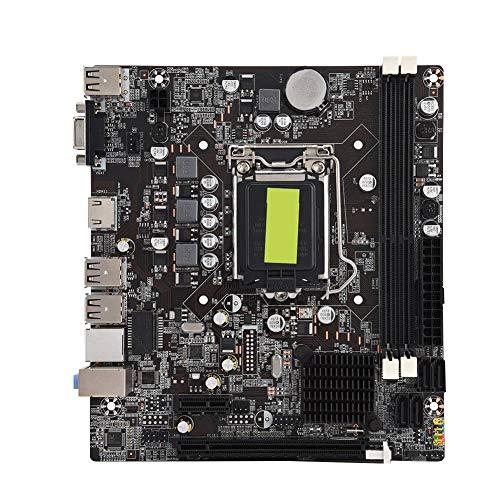 I3 Mise a Niveau de LInterface USB 2.0 Ddr3 1600//1333 pour Intel Core I7 SODIAL H61 Ordinateur de Bureau Carte M/ère Carte M/ère Carte M/ère 1155 I5