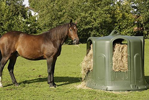Mailles serr/ées de 5 x 5 cm Filet /à foin pour chevaux Pour une alimentation adapt/ée aux animaux Longueur environ 106 cm Poids net environ 3,5 kg
