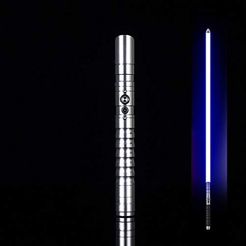 Bleu Bleu tevenger 2 X Double Sabre Laser avec Son /Ép/ée de Lumi/ère Vibration 138 cm Rouge Vert Bleu