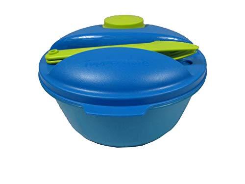 Tupperware Natura 29960 Ergonomica Lot de 2 bols m/élangeurs Turquoise fonc/é 550 ml