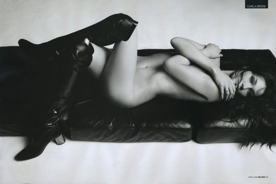 Photo Carla Bruni nue